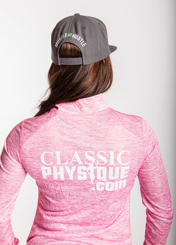 Classic Physique Half-Zip Jacket - Pink