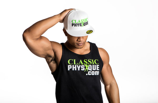 Classic Physique Muscle Husle Hat - White