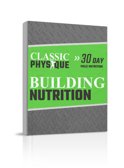 Men's 30-Day Nutrition Plan