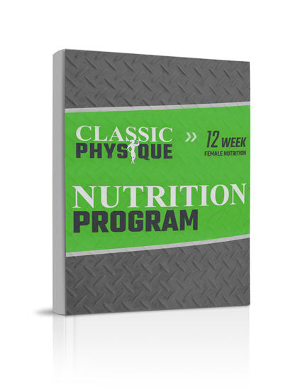 Women's 12-Week Nutrition Plan
