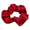 5 Pack Bundle Satin Scrunchie's--RED