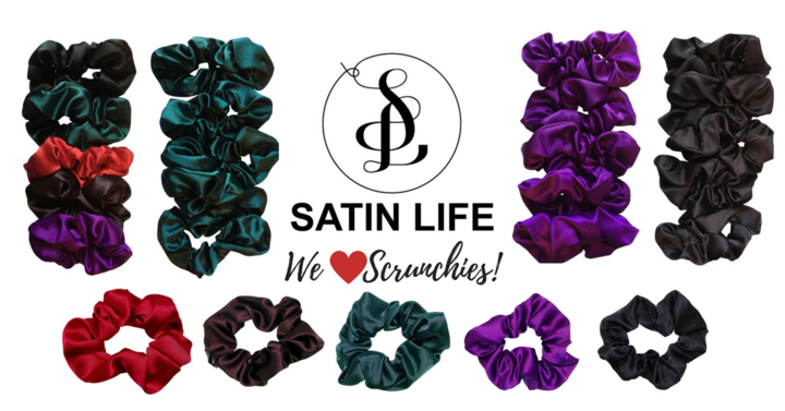 Satin Scrunchies Are on Sale NOW!
