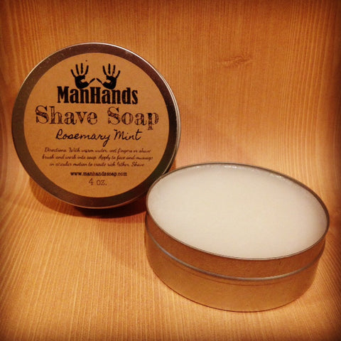 Rosemary Mint Shave Soap