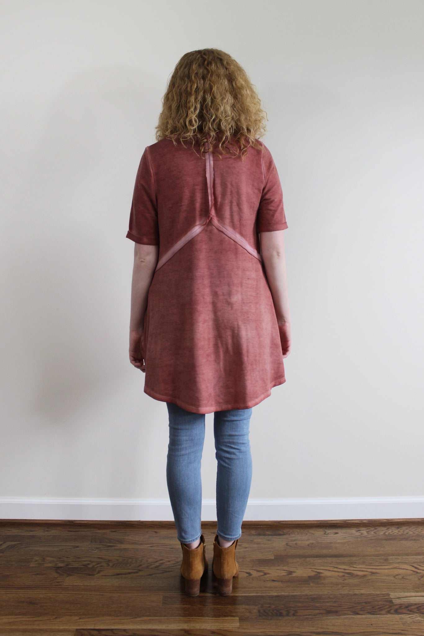 French Terry Tunic Shirt