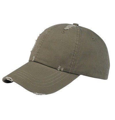 Olive Deconstructed Baseball Cap