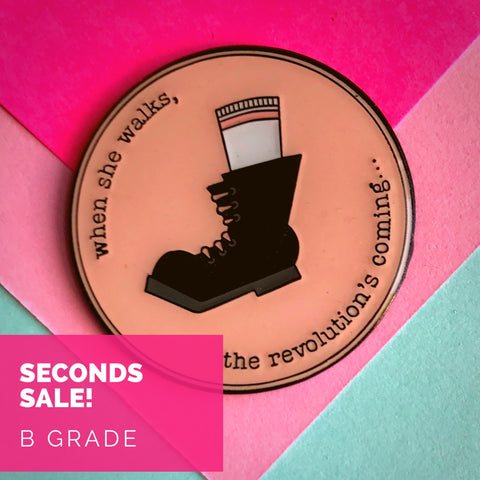 Seconds Sale - When She Walks - B GRADE