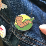Caterpillar Cat Enamel Pin