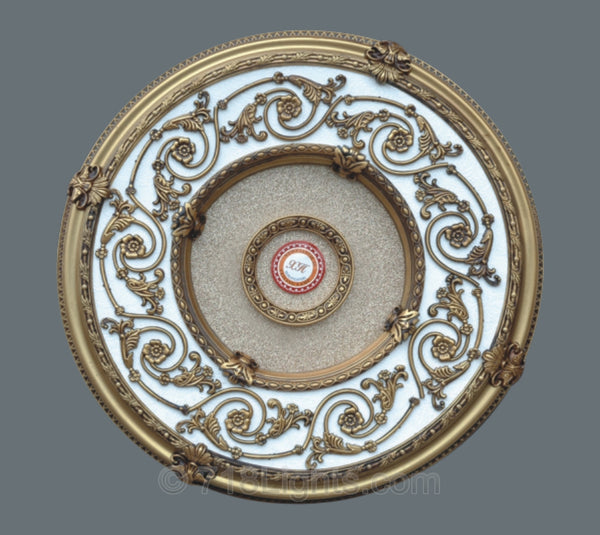 Round Ceiling Medallion #ROUND-B-101  Title Description Body html Rich Text Editor