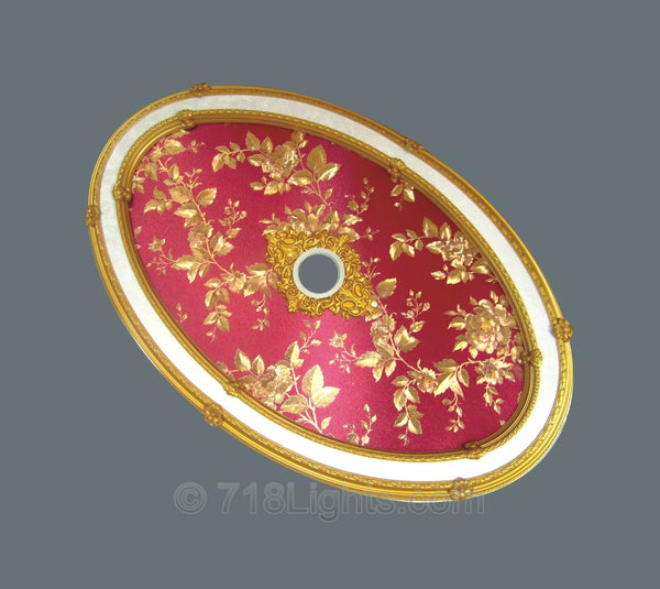 Oval Ceiling Medallion #OVAL9014-S-056