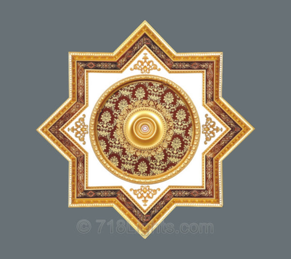 Star Ceiling Medallion #STAR-2S-072