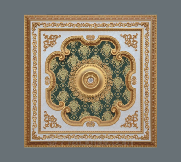 Square Ceiling Medallion #SQUARE-S-028