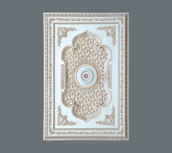 Rectangle Ceiling Medallion #RECTANGLE-5-S-103