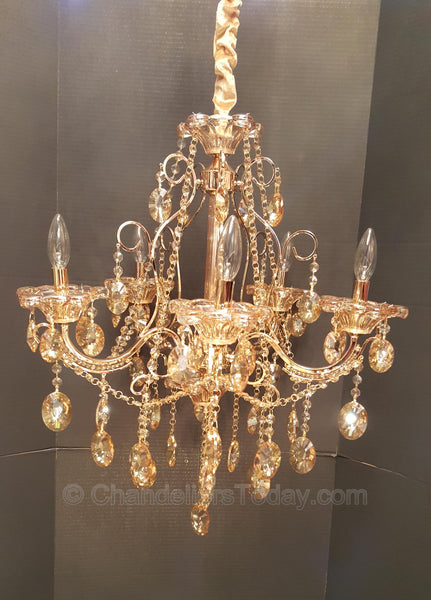 Impressive Maria Theresa Chandelier item #86059 5-Light
