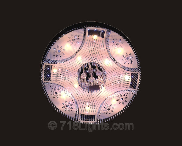 LED Chandelier Aria Roundw