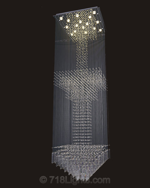 Modern Chandelier Tower