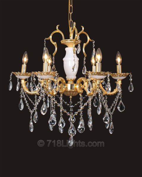 Maria Theresa Chandelier#BS9073 6-Light