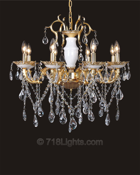 Maria Theresa Chandelier#BS9073 8-Light
