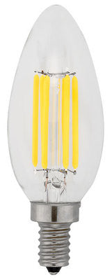 LED filament light bulb e12