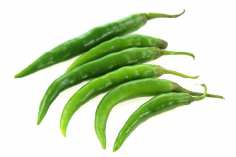 Green Chili (white) | Piment vert (blanc)