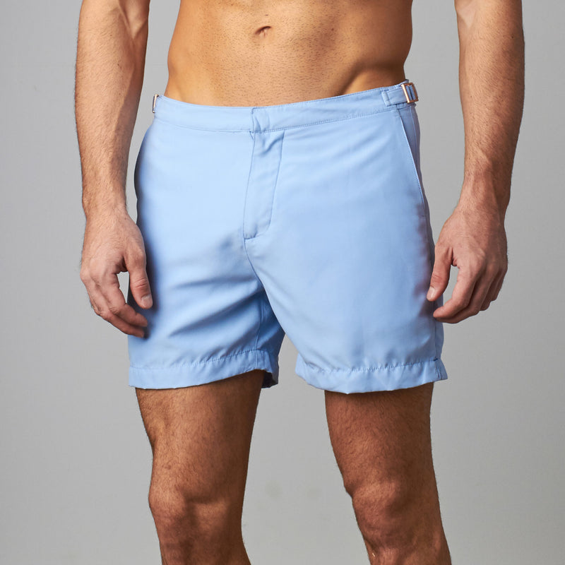 Tailored Swim Short - Sea