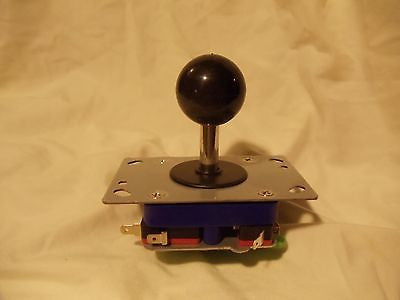 New Adjustable 2/4/8 Way Joystick with BLACK Ball Handle short shaft