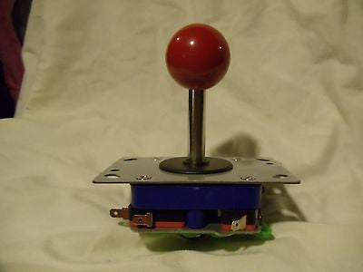 New Adjustable 2/4/8 Way Joystick with RED Ball Handle long shaft