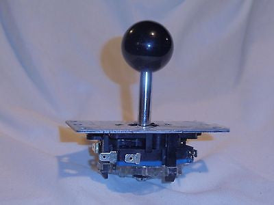 New Adjustable 2/4/8 Way Joystick with BLACK Ball Handle long shaft