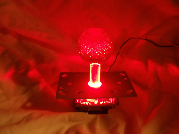 Red LED lighted Joystick