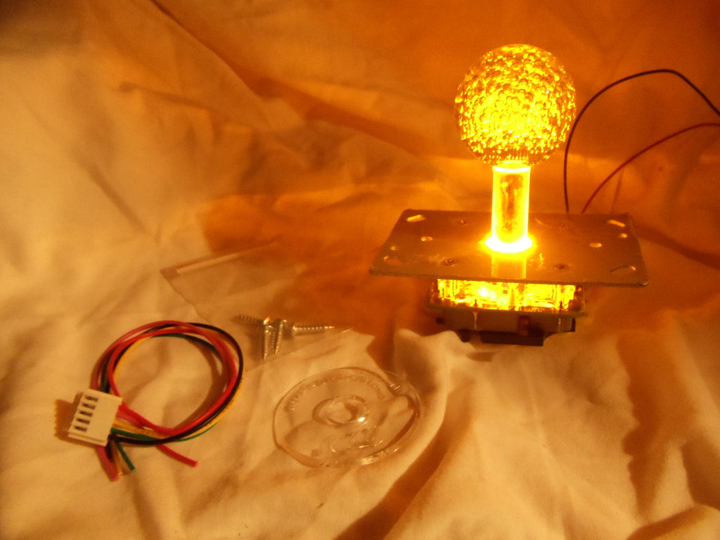 Yellow LED lighted Joystick