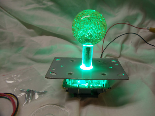 Green LED lighted Joystick