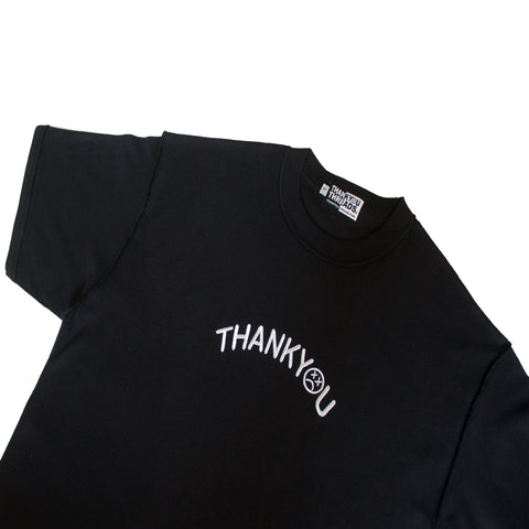 Embroidered Arc Logo Tee