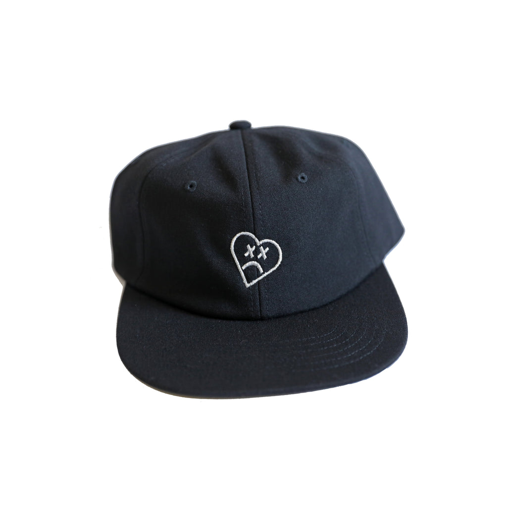heart six panel hat
