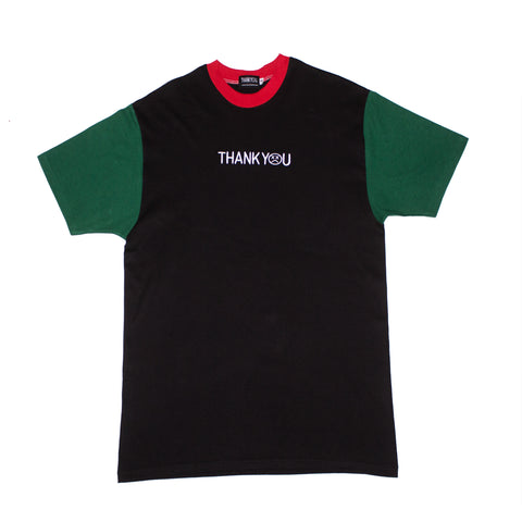 gucci color block tee