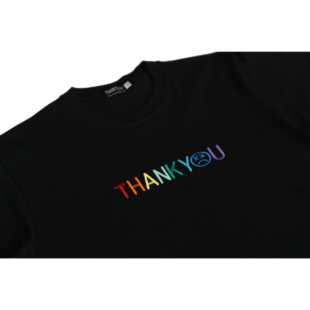 multi color spell out long sleeve