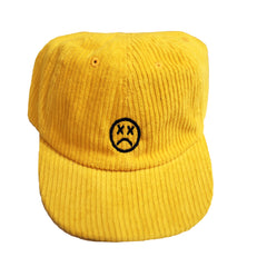 corduroy 6 panel hat