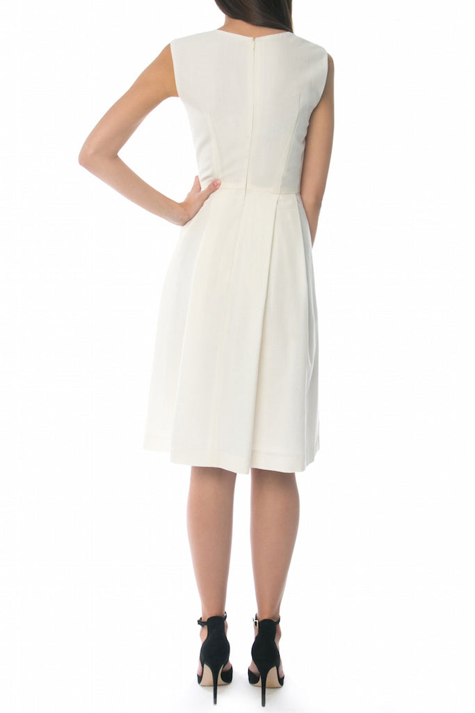 Audrey Dress, Winter White