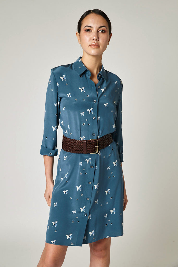Pegasus Shirt Dress
