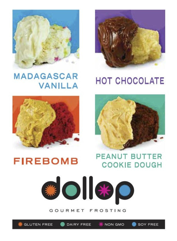 Dollop Gourmet Frosting Coming Soon to Wegmans