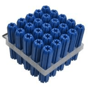 Wall Plugs - Blue Wall Plug - 1000 pack - bcsupplies.com.au