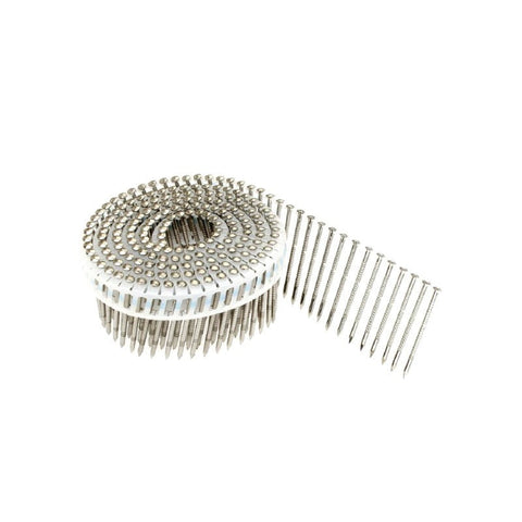 Coil Nails - 50mm Decking Nails - Ring Shank Oval Head - SS - bcsupplies.com.au