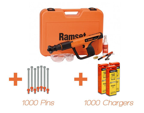 FORMMASTER - Ramset FORMMASTER Powder Actuated Fastener Gas Gun - Timber to Steel Kit - bcsupplies.com.au