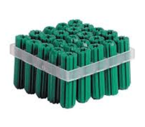 Wall Plugs - Green Wall Plug - 2000 pack - bcsupplies.com.au