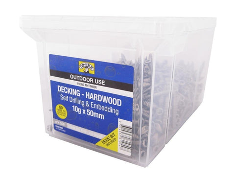 Decking Screws - Chemshield Decking Screws - 10G x 50mm - SS - bcsupplies.com.au