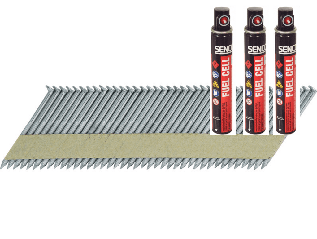 Senco 50mm Framing Nails with Gas - Galvanised | Building ...
