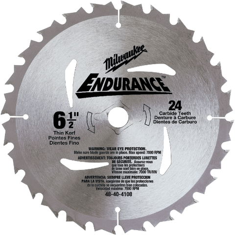 Milwaukee Circular Saw 6-1/2 (165mm) Blade