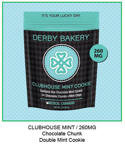 Clubhouse Mint Chocolate Chunk Double Mint Cookie