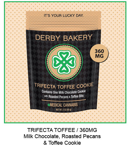 Trifecta Toffee Milk Chocolate Cookie