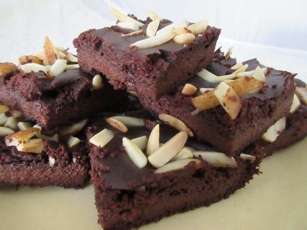Simple Nut Free Paleo Vegan Brownies