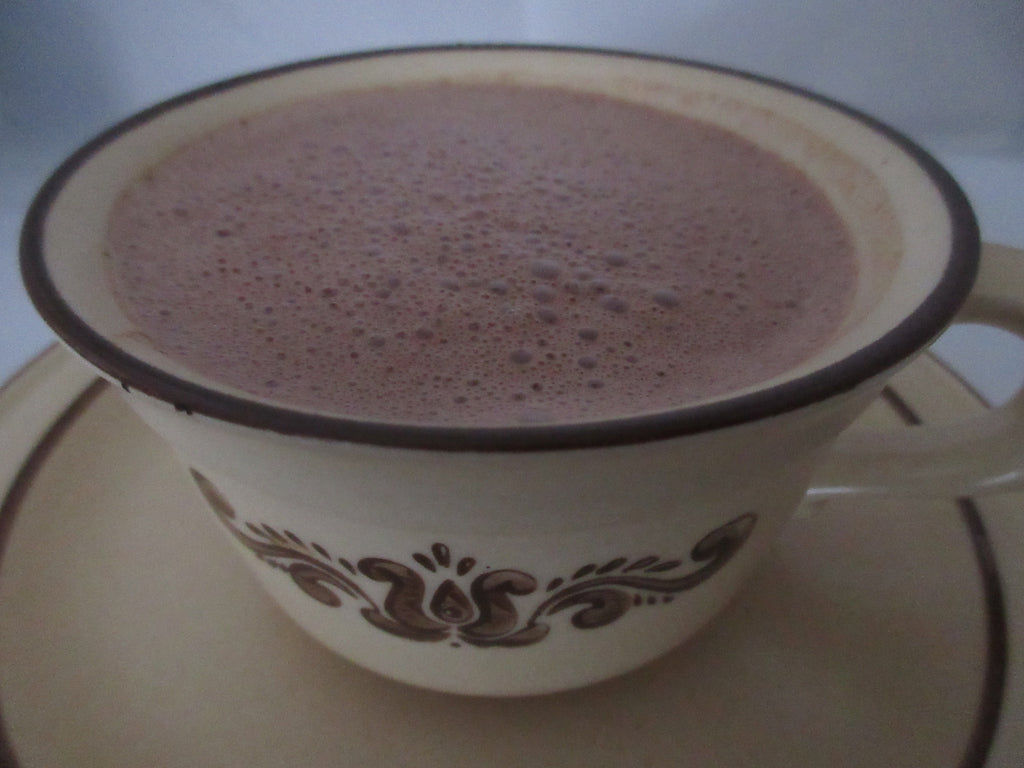 Raw Almond Hot Chocolate (Paleo, and Dairy Free with Nut Free Option)