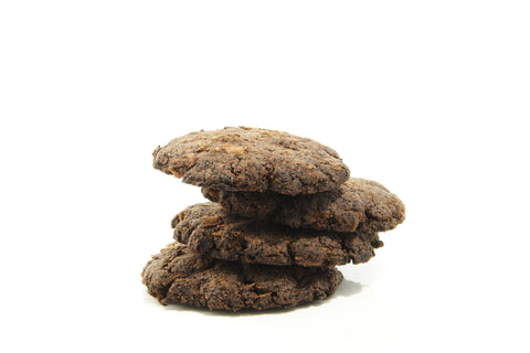 Chocolate Coconut Cookies - Vegan, Paleo, Ketogenic, Sugar free